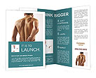 Man With Spine Pain Brochure Templates