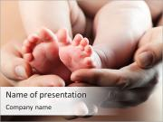 Cute Baby Feet PowerPoint presentationsmallar
