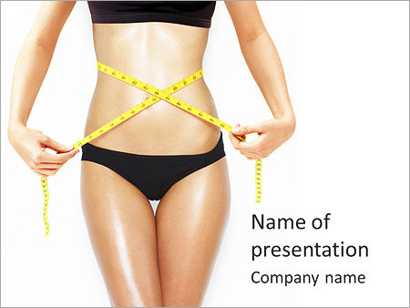 Perfect Body Shape PowerPoint Templates