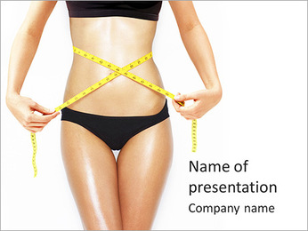Perfect Body Shape PowerPoint Template - Slide 1