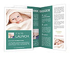 Baby After Bath Brochure Templates