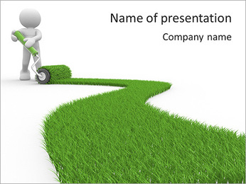 Eco Path PowerPoint Template