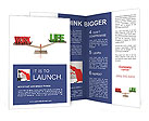 Balance Between Life And Work Brochure Templates