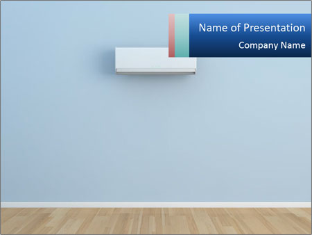 Air conditioner on blue wall powerpoint template backgrounds id air conditioner on blue wall powerpoint templates toneelgroepblik Choice Image