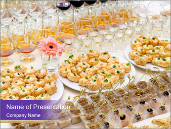 Catering Service PowerPoint Template