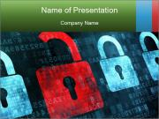 Protect Secret Data Шаблоны презентаций PowerPoint