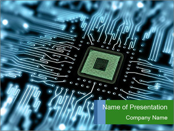 Microchip Component PowerPoint Template