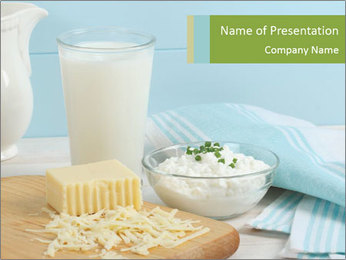 Homemade Dairy PowerPoint Template