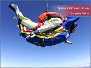 Parachuting is Fun PowerPoint Templates