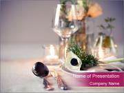 Festive Table Decor PowerPoint Templates