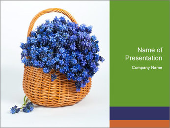 Springtime Flowers PowerPoint Template