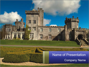 Old Castle in Ireland PowerPoint Template