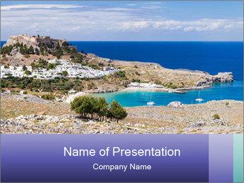 Tourist Summer Spot PowerPoint Template