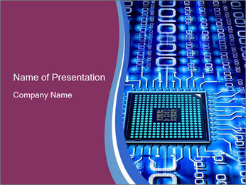 Electronic Chip PowerPoint Template