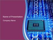 Electronic Chip PowerPoint Templates