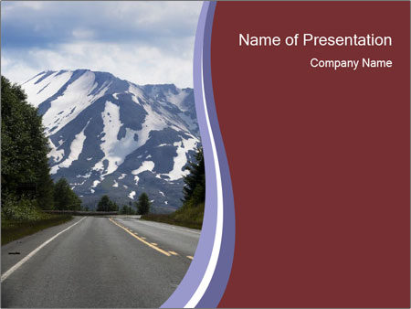 Mountains In Usa Powerpoint Template Backgrounds Google Slides