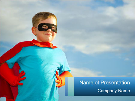 Superhero ppt template targergolden dragon superhero ppt template toneelgroepblik Image collections