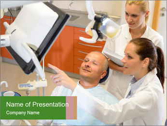 Private Clinic PowerPoint Template