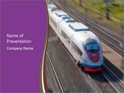 Speed Train PowerPoint Templates