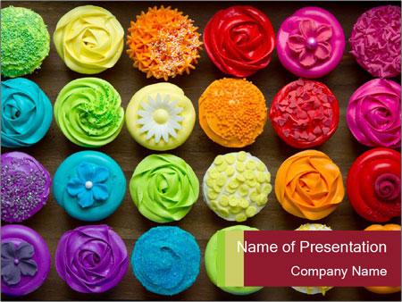 creative cupcakes plantillas de presentaciones powerpoint y fondos id 0000030584. Black Bedroom Furniture Sets. Home Design Ideas