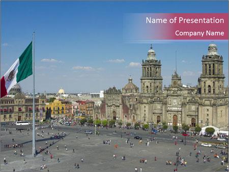 メキシコ powerpointプレゼンテーションのテンプレート
