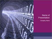 Codes Tunnel Шаблоны презентаций PowerPoint
