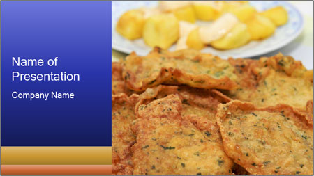 traditional spanish food powerpoint template backgrounds google