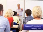 Senior Professor PowerPoint Templates