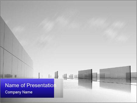 Nice Glass Building Powerpoint Template Backgrounds Google Slides