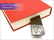 Book with Creative Mark PowerPoint Templates