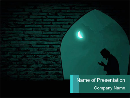 Islam Religion Powerpoint Template Backgrounds Google Slides Id