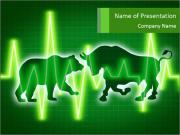 Symbols of Stock Market Sjablonen PowerPoint presentaties