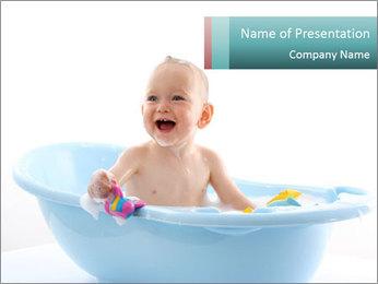 Bath Loves Bath PowerPoint Template