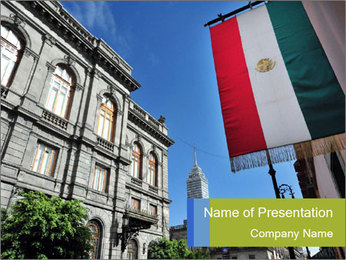 Mexican Flag PowerPoint Template