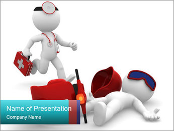 Emergency Call PowerPoint Template