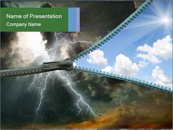 Weather Change PowerPoint Template