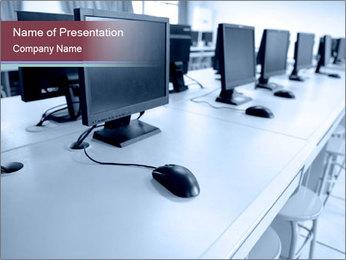 Computer Class PowerPoint Template