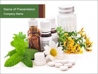 Effective Alternative Medicine PowerPoint Template