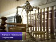 Symbol of Justice PowerPoint Templates
