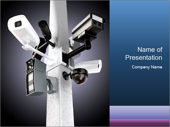 Video Safety Camera PowerPoint Template