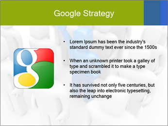 Blue Leading Man Modèles des présentations  PowerPoint - Diapositives 10