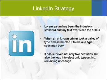 Blue Leading Man Modèles des présentations  PowerPoint - Diapositives 12