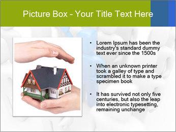 Blue Leading Man Modèles des présentations  PowerPoint - Diapositives 13