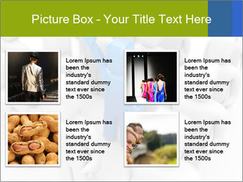 Blue Leading Man Modèles des présentations  PowerPoint - Diapositives 14