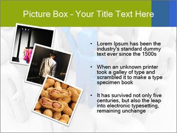 Blue Leading Man Modèles des présentations  PowerPoint - Diapositives 17
