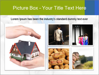 Blue Leading Man Modèles des présentations  PowerPoint - Diapositives 19