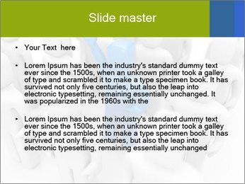 Blue Leading Man Modèles des présentations  PowerPoint - Diapositives 2
