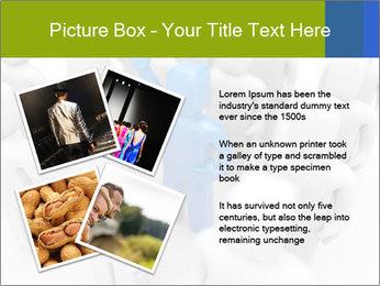Blue Leading Man Modèles des présentations  PowerPoint - Diapositives 23