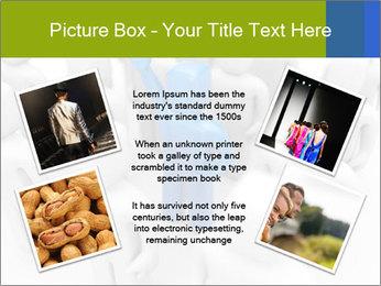Blue Leading Man Modèles des présentations  PowerPoint - Diapositives 24