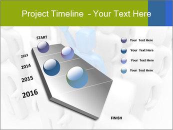 Blue Leading Man Modèles des présentations  PowerPoint - Diapositives 26